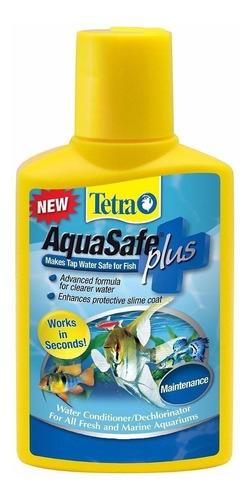 Tetra Aquasafe Plus 250ml Acondicionador Acuario Anticloro