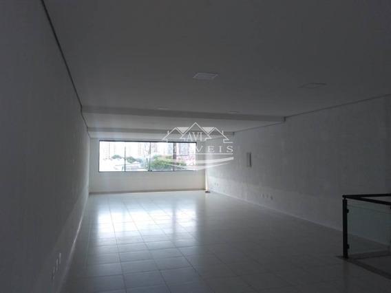 Salão (sobreloja) Para Locação No Bairro Vila Gomes Cardim, 134.00 M - 483