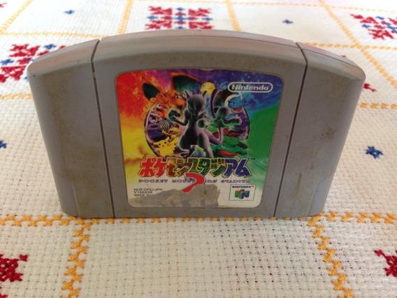 Pokemon Stadium 2 N64 Japones Original