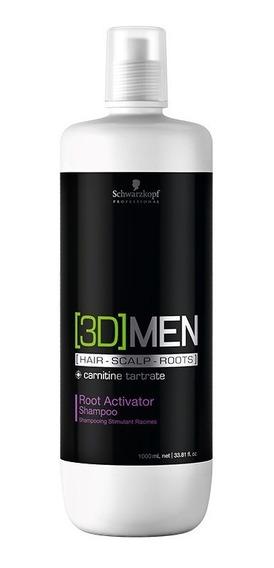 Schwarzkopf 3dmension Root Activator Shampoo Ativador Raízes