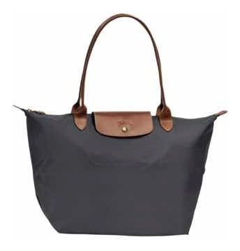 Bolsa Tote Longchamp Grande Negra