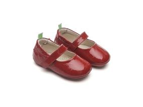 Sapato Infantil Tip Toey Joey Dolly Verniz Vermelho