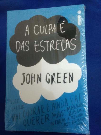 Livro A Culpa É Das Estrelas/romance/novo/lacrado/john Creen