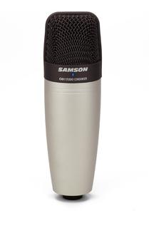 C01 Samson Microfono De Condensador Cardioide Para Grabacion