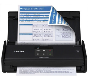 Scanner Compacto De Mesa Brother Ads-1000w