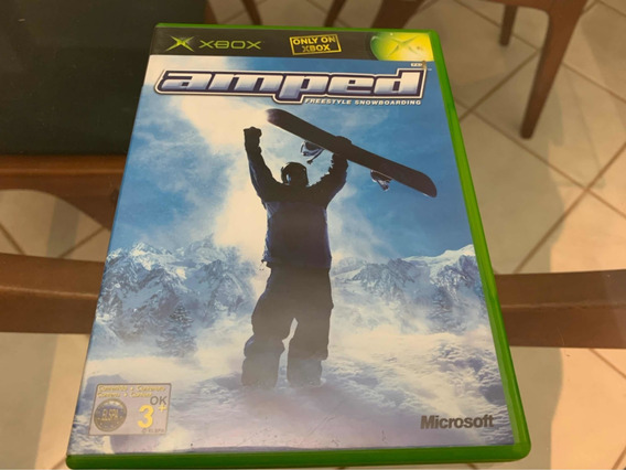 Amped Snowboarding Xbox Clássico