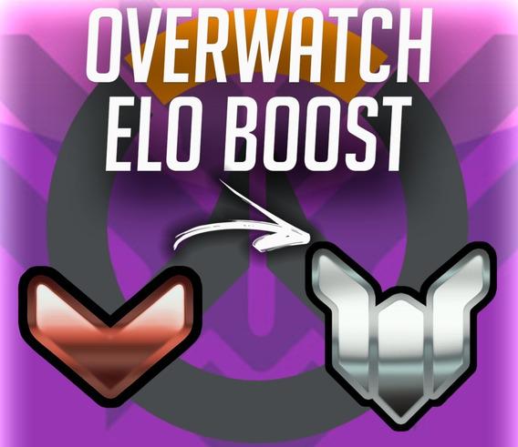 Overwatch Elo Boost - Qualquer Rank/sr Ate Platina