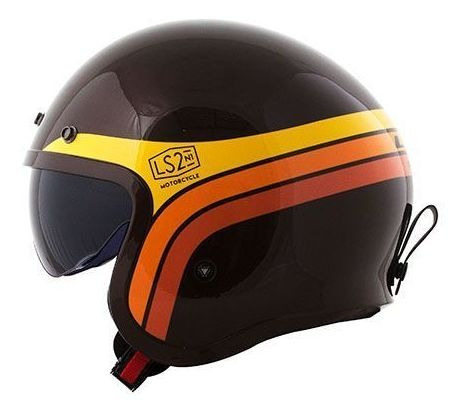 Capacete Of599 Spitifire Sunrise Brown