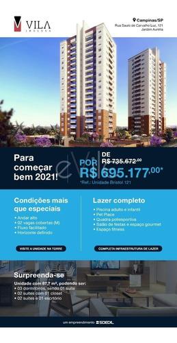 Apartamento À Venda Em Vila Proost De Souza - Ap008655