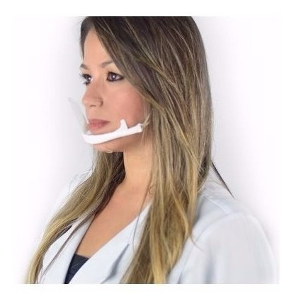Máscara De Proteção Higiênica Preserva A Maquiagem Estética