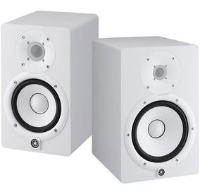 Monitor De Referência Ativo Yamaha Hs5 Branco Par 70w 110v