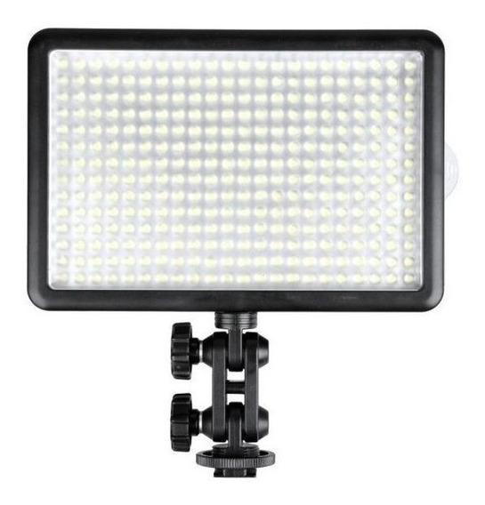 Luz contínua tipo painel Godox LED308 branca-quente/branca-fria