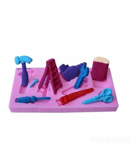 Imagen 1 de 6 de Herramientas Molde De Fundición De Silicona Chocolate Polyme