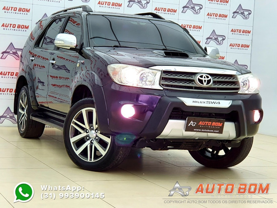 Toyota Hilux Sw4 Srv 3.0 Turbo 4x4 7 Lug. Completissíma 2010