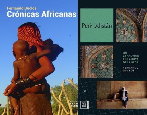 Imagen 1 de 1 de Periodistán + Crónicas Africanas - Fernando Duclos
