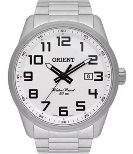 Reógio Orient Masculino Prata - Mbss1271 S2sx
