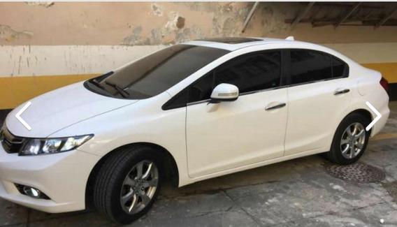 Honda Civic 2012/2012 Exs Em Perfeito Estado