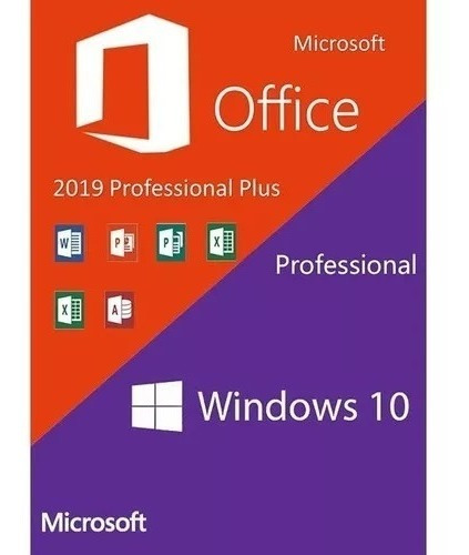 Windows 10 Pro + Office2019 Pro Key Chave Serial Por Email