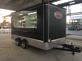 Oportunidad Vendo Trailer Americano - Foodtruck