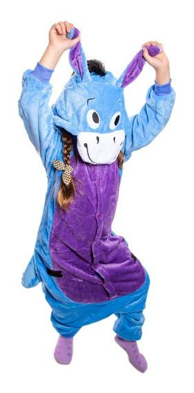 Pijama Unicornio Kigurumi Plush Suave Party Kanguro Burro