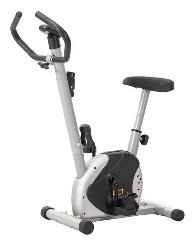 Imagem 1 de 4 de Bicicleta ergométrica WCT Fitness 44144 vertical preta e cinza