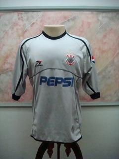 Camisa Futebol Corinthians Sp Topper Jogo Antiga 2390
