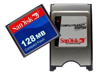 Kit Pcmcia + Compact Flash 128mb Cnc Fanuc