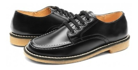 Zapato Escolarelefante 7001 -41 Oscaria/cremol Negro (21.5