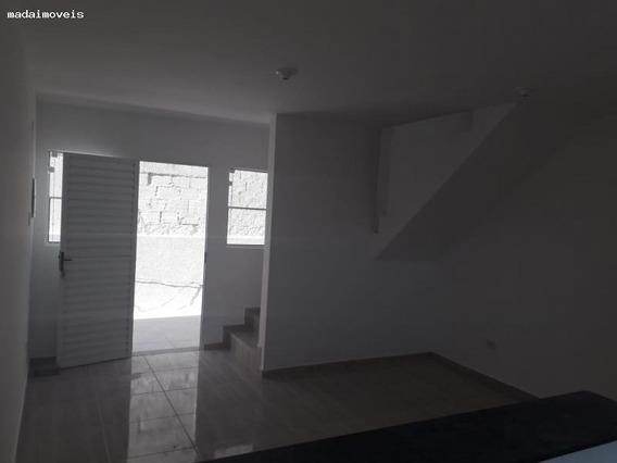 Casa Em Condomínio Para Venda Em Mogi Das Cruzes, Vila Nova Aparecida, 2 Dormitórios, 2 Banheiros, 1 Vaga - 2132_2-933468