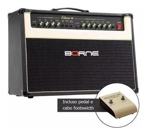 Amplificador Cubo Borne Evidence 100 100w 2x10 Cacau Santos
