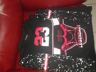 Playera Chicago Bulls Legendary S/m Moda Ropa Hombre