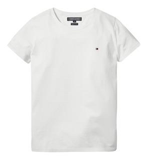 Camiseta Tommy Hilfiger Masculina 100% Original Branco P29