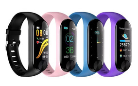 Relógio Inteligente Xiaomi Mi Band 3 (clone) Feminino
