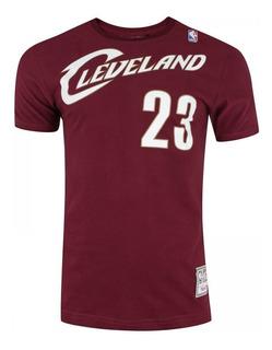 Camiseta Masculina James 23 Cavaliers Nba