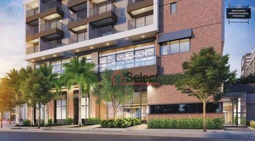 Imagem 1 de 12 de Apartamento Com 1 Dormitório À Venda, 26 M² Por R$ 341.079,00 - Vila Buarque - São Paulo/sp - Ap1429