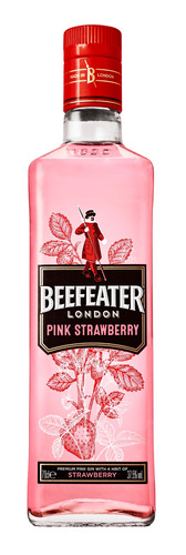 Imagen 1 de 1 de Gin Beefeater London Pink London Dry 700mL frutilla