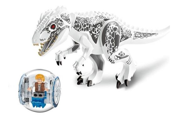 Brinquedos Compatível Lego Dinossauro + Carro Bola Jurassic