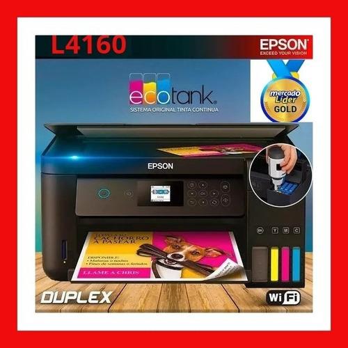 Impresora Epson L4160 Sistema De Fabrica+wifi+duplex+factura