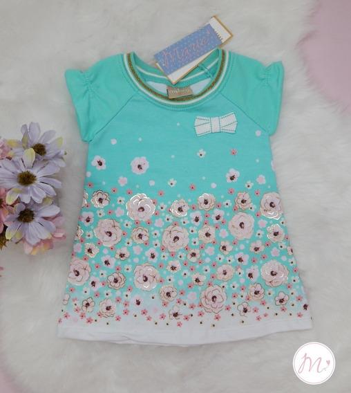 Vestido Bebê Floral Milon