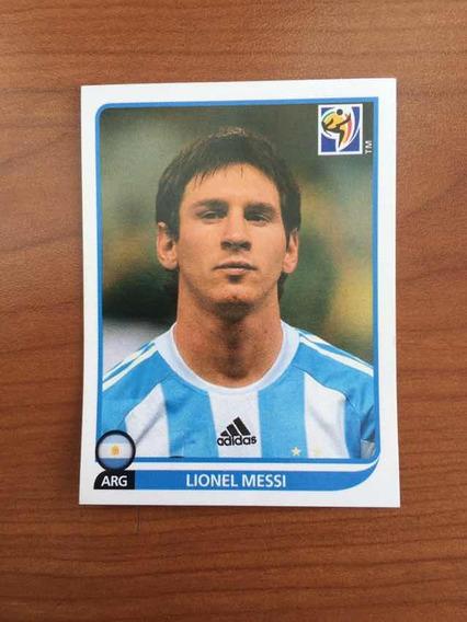 Estampa Panini Sudáfrica 2010 Lionel Messi