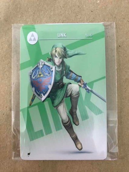 Amiibo Link - Smash Bros - Pronta Entrega