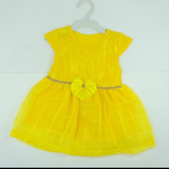 1und. Vestidos Menina Roupa Bebê De 2 A 7 Meses/revenda/infa
