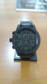 Relógio Nixon 51-30 Matte Black Chrono Novo Original