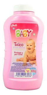 Talco Baby Rosa 300 Gr