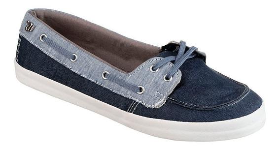 Mocassim Feminino Capricho Kauai Jeans/navy - Cp0305