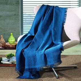 Manta De Sofá Decorativa 100% Algodão 1,20 X 1,50 Dohler