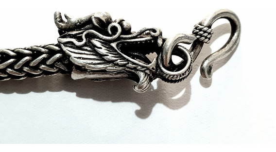 Gargantilha De Prata - Dragão
