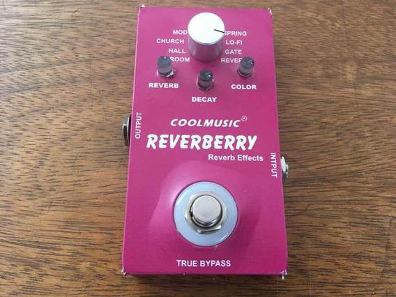 Pedal Coolmusic Reverberry 9 Tipos De Reverb Pronta Entrega