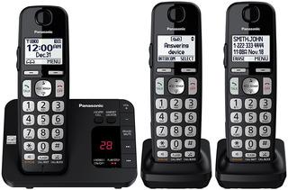 3 Telefonos Inalambricos Panasonic Kx-tge433b Contestadora