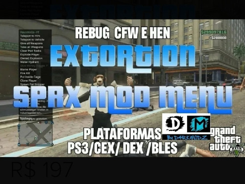 Extortion Gta5 Ps3
